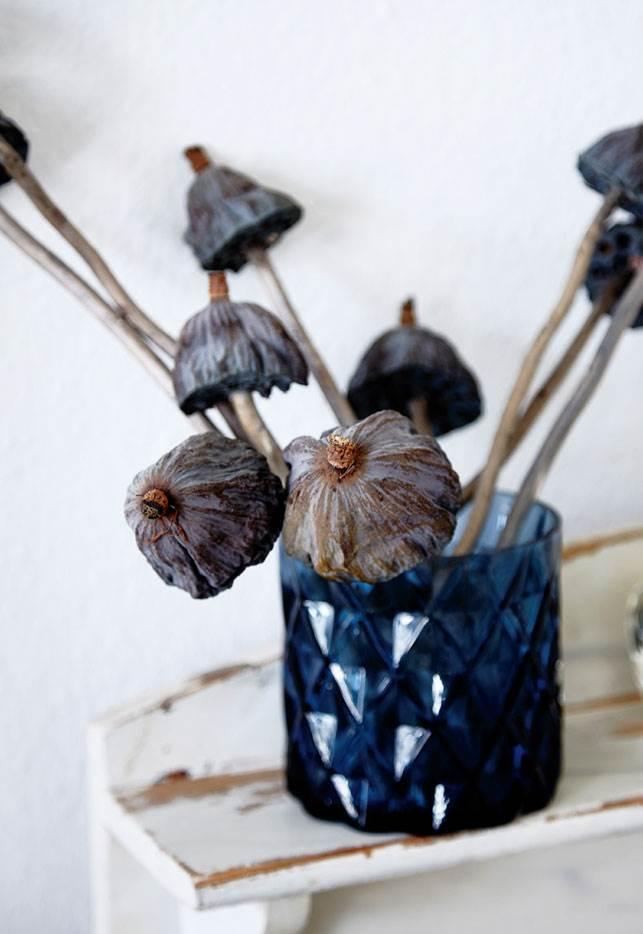 Décorez avec des bouquets de fleurs séchés | L'intérieur de Jette Svane à Copenhague