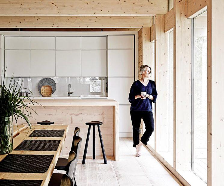 Une cabane d'aujourd'hui | la cabane scandinave de Kati Hienonen