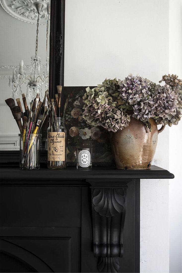 Décorez avec des bouquets de fleurs séchés | Styling et photographie Mademoiselle Poirot