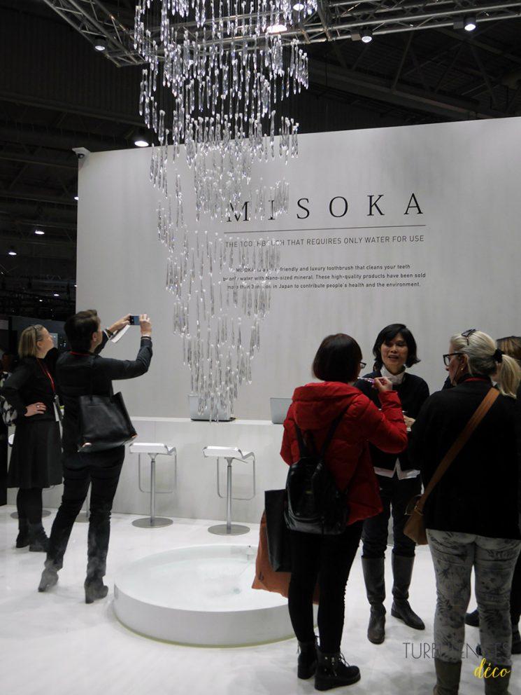 Stand Misoka à Maison et Objet janvier 2017