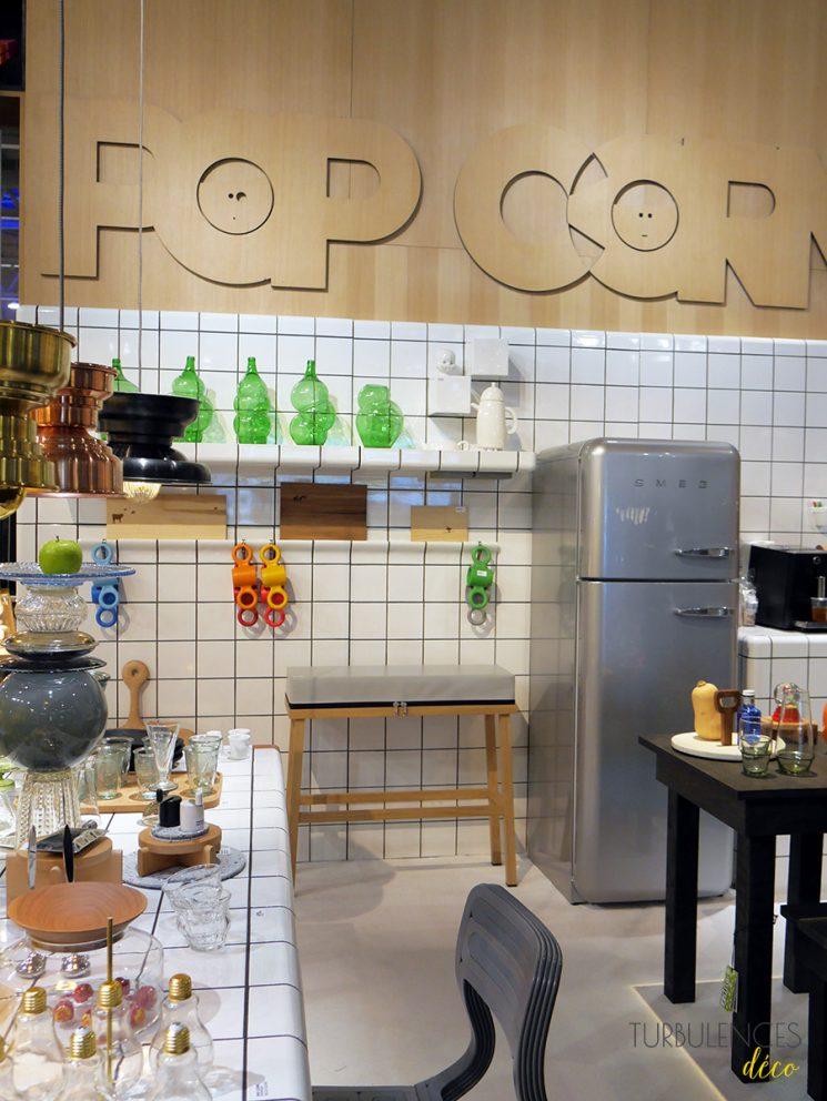 Stand de Pop Corn à Maison et Objet janvier 2017