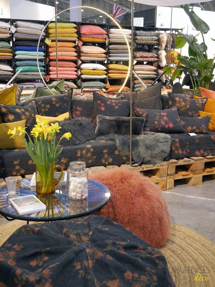 Collection d'accessoires textiles Maison de vacances