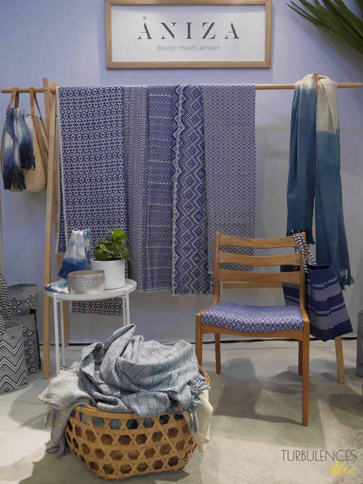 Stand Aniza Design - Maison et Objet janvier 2017 Hall 1 | Turbulences déco
