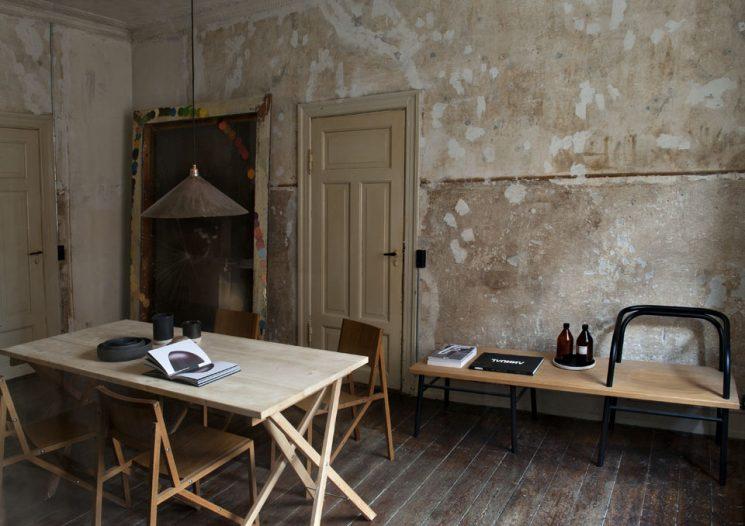 L'intérieur de Niels Strøyer Christophersen, co-fondateur de Frama à Copenhague