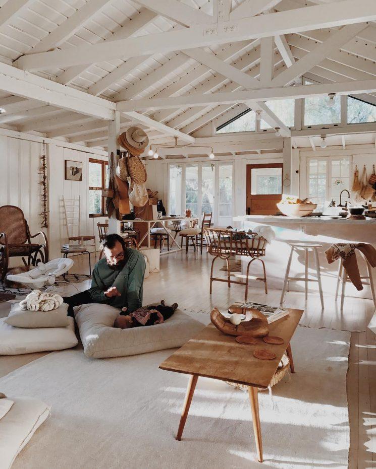 La maison Topanga de Serena Mitnik-Miller, General Store L.A. et Mason St Peter | Vivre comme des hippies modernes