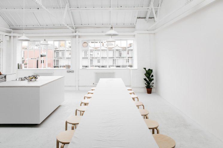 Studio 8A par Rye London | Une cuisine ultra blanche