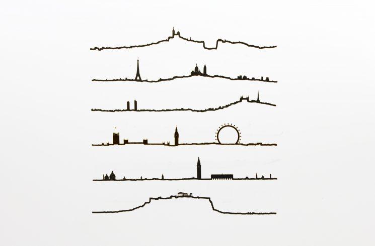 Les lignes d'horizons de nos villes fétiches, signées The Line