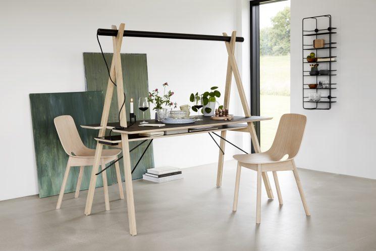 La marque de design danoise Woud