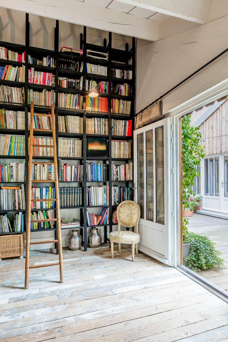 Le loft de l'architecte d'intérieur Marika Chaumet à Montreuil