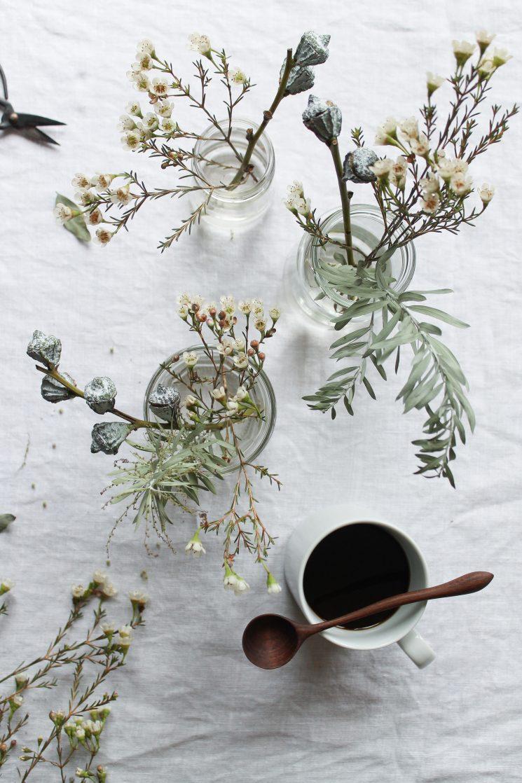 Décorez avec des bouquets de fleurs séchés | Styling et photo signés Julia du blog Humphrey & Grace