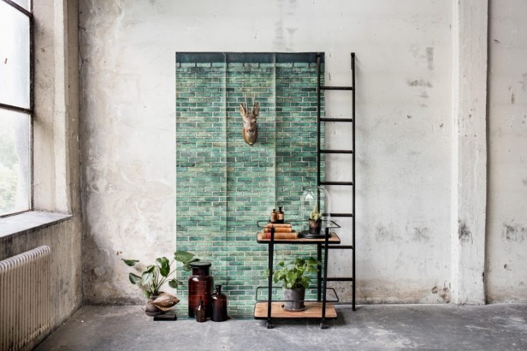 Collection n°7 Curious par Rebels walls - Urban emerald