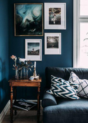Le goût du bleu selon Kristin Lagerqvist