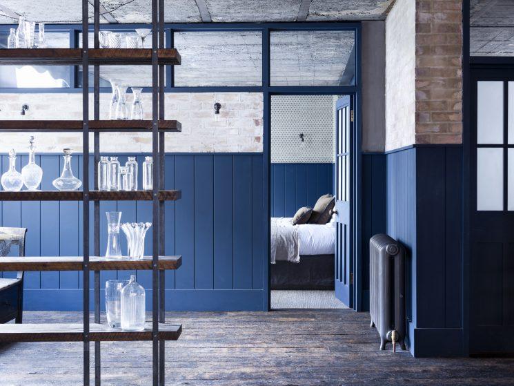 Mark Lewis interior designer || Hoxton square, entre style industriel et rustique