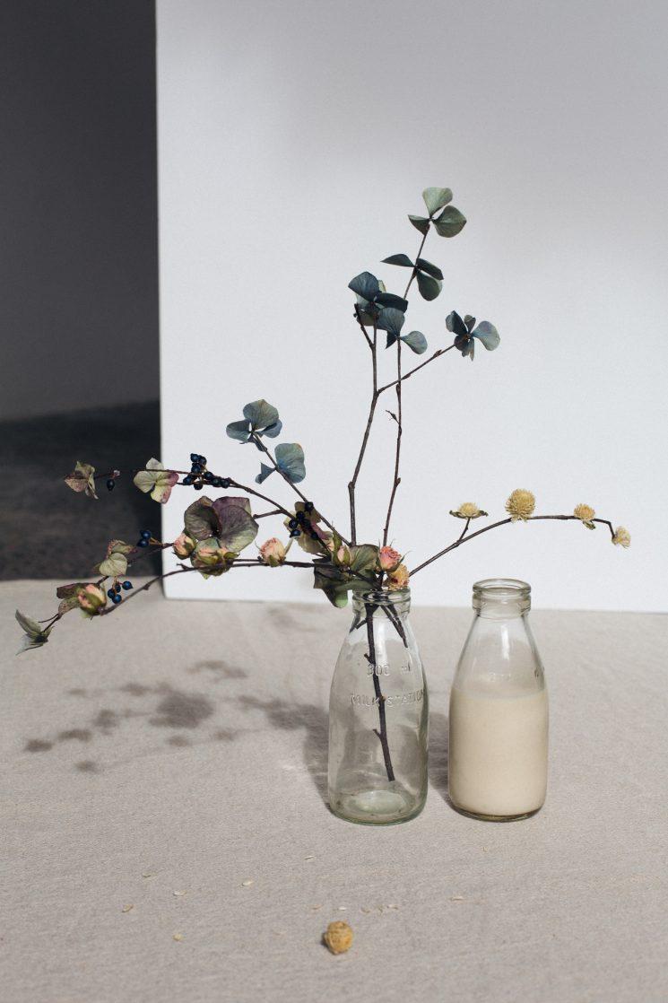 L'art des fleurs séchées par les designers Markantonia