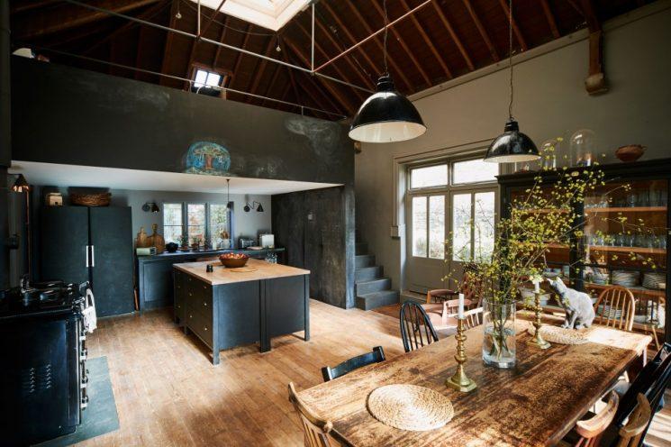Une vieille demeure au style classique revisité par la designer Niki Turner