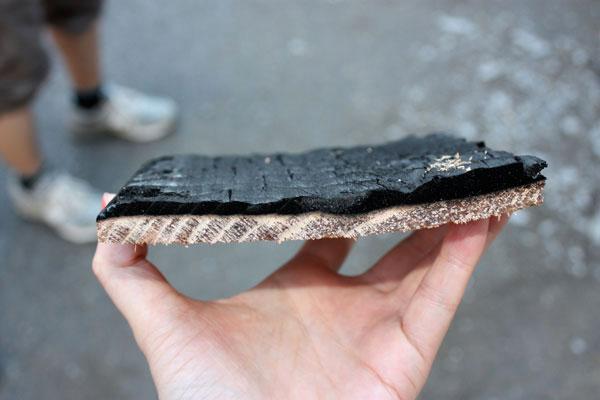 La technique du bois brûlé ou Shou Sugi Ban