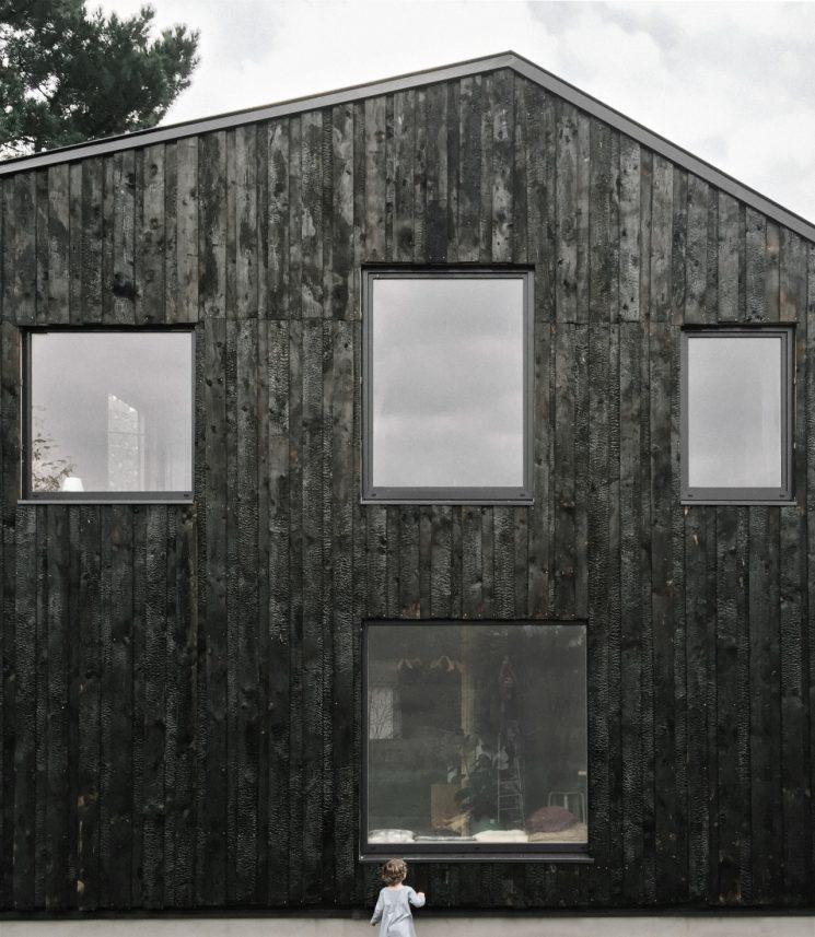 La Technique Du Bois Brûlé Ou Shou Sugi Ban || Architecte Atelier Ordinaire    Maison