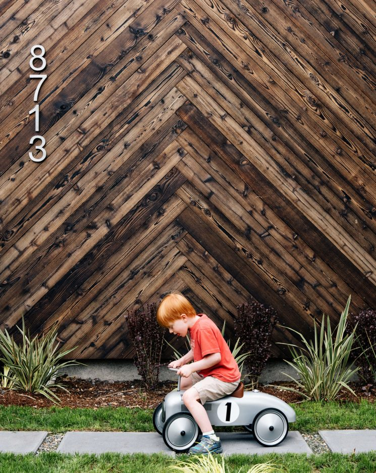 La technique du bois brûlé ou Shou Sugi Ban || Palatine passive house par l'architecte Tiffany Bowie