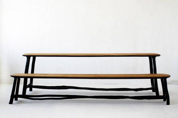 La technique du bois brûlé ou Shou Sugi Ban    Collection Fall / Winter par le designer Valentin Loellmann