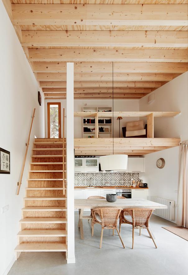 Ans la veine je rêve dune maison de campagne ciment et bois de