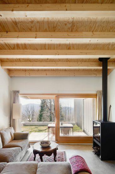 Je rêve dune maison de campagne ciment et bois de