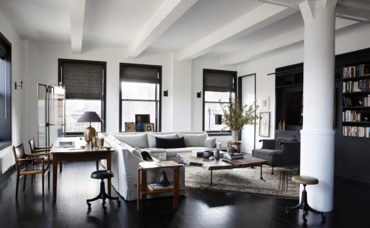 Le style - très classique charme - de Monique Gibson | NEW YORK CITY LOFT