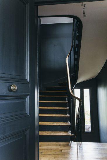 On ose le total look bleu marine || architecte Camille Hermand