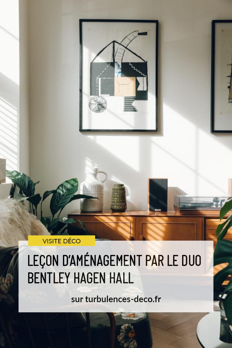 Leçon d'aménagement par le duo Bentley Hagen Hall d'un appartement à Londres à retrouver sur Turbulences Déco