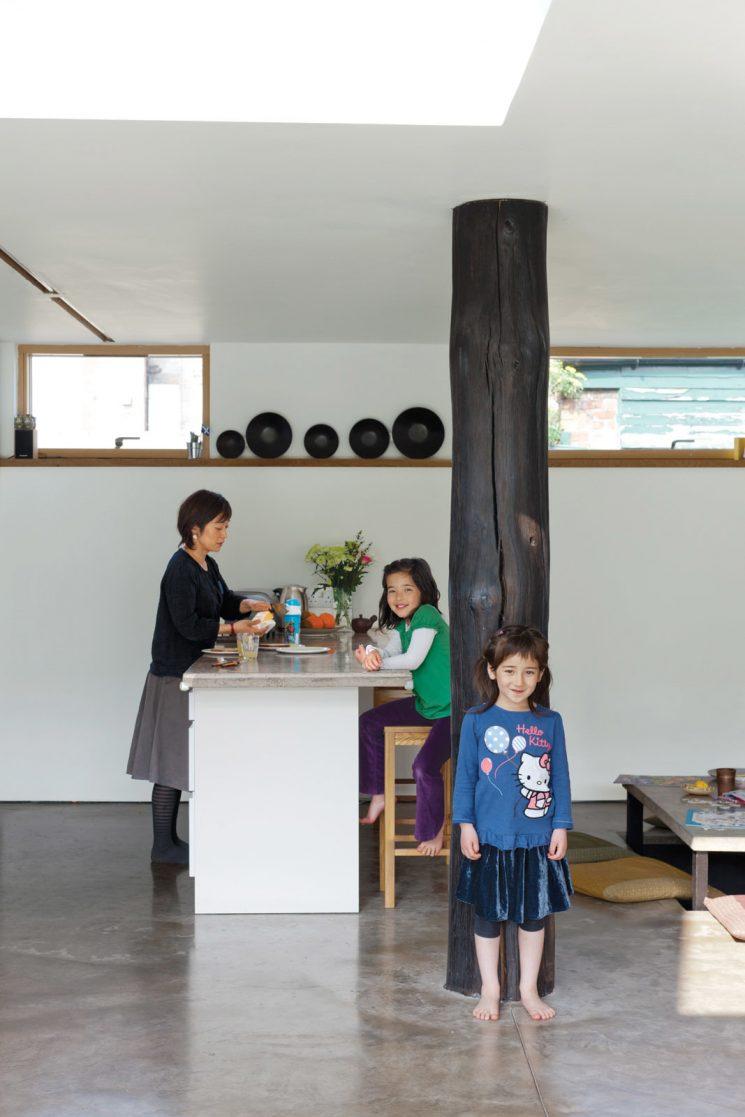 La technique du bois brûlé ou Shou Sugi Ban    The japanese house par Konishi Gaffney architects