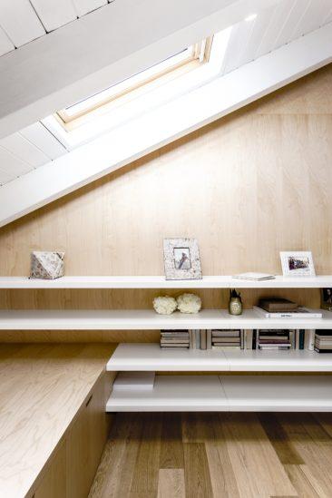 Revêtir ses murs de contreplaqué | Appartement Emme Elle par Archiplan studio