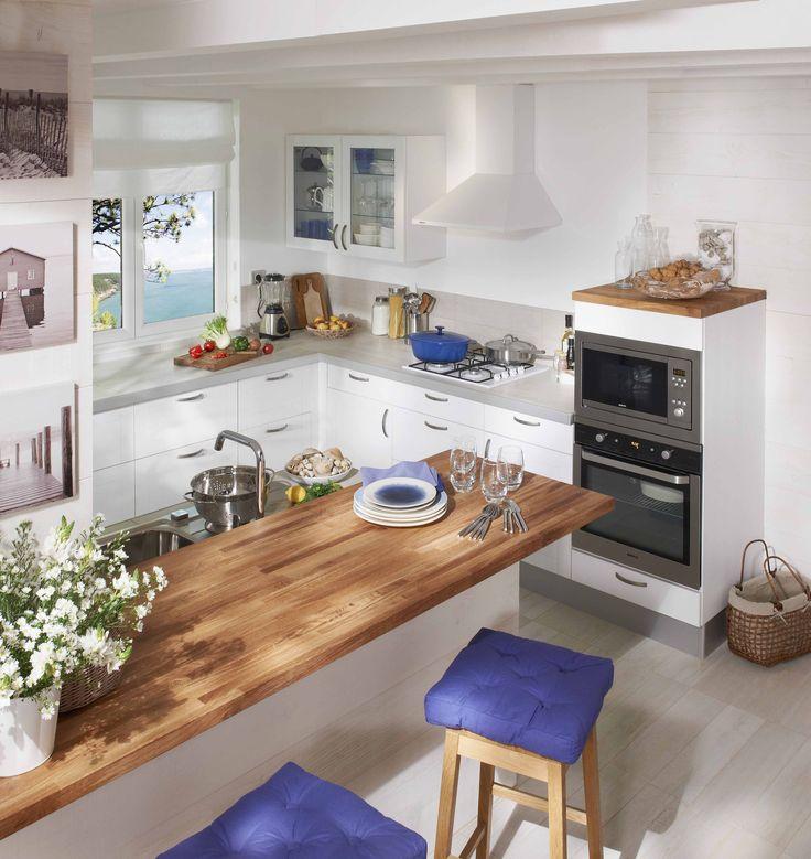 Le choix du plan de travail dans la cuisine l 39 atout d co - Plan de travail cuisine rabattable ...