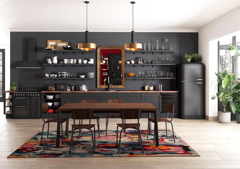 La cuisine en I ou linéaire // Cuisine Plus, modèle Kensington