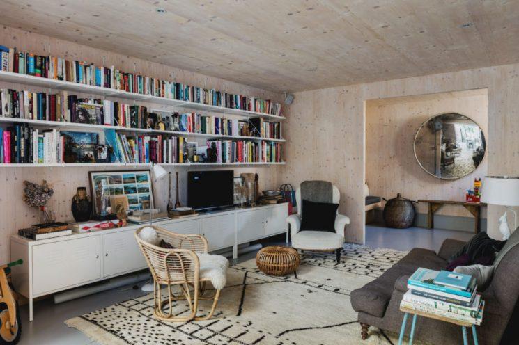 Revêtir ses murs de contreplaqué   Gingerbread House par l'architecte Laura Dewe Mathews
