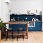 La tentation d'une cuisine bleue