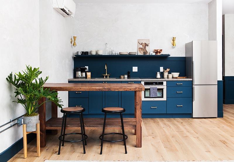 la tentation dune cuisine bleue