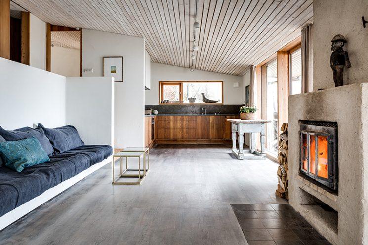 Un refuge en Suède entre mer et forêt en vente sur le site Per Jansson