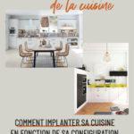 Bien implanter sa cuisine en fonction de la configuration de la pièce