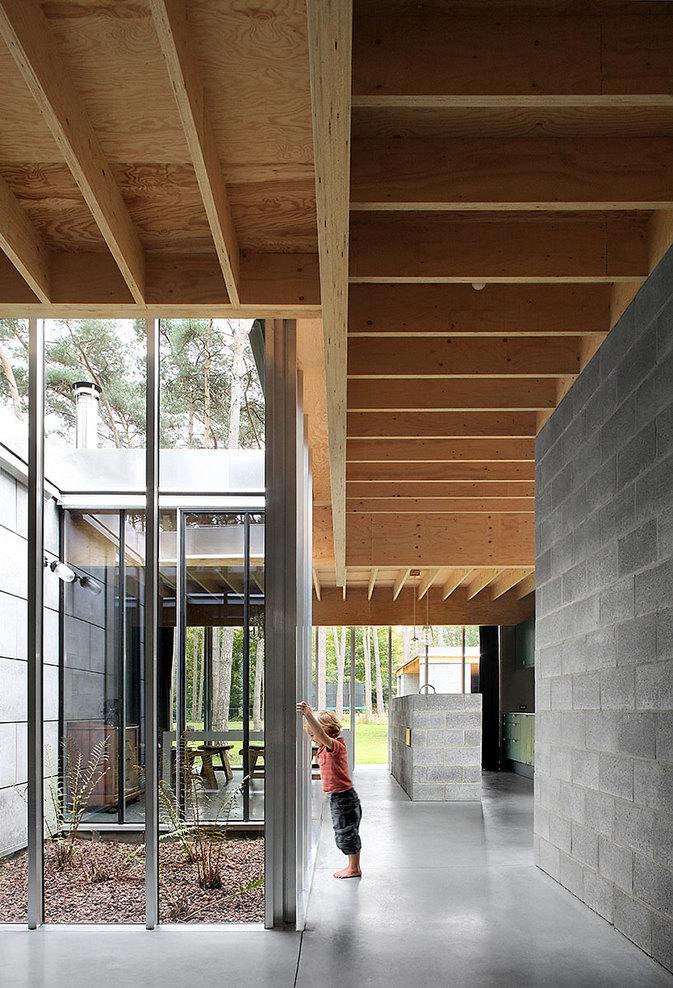 Palette de matière : Aspect ciment et béton brut | Waasmunster house par Ono architectuur