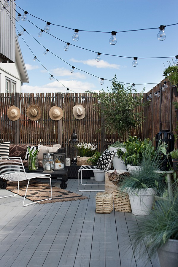 Sélection shopping ] Aménager une terrasse d\'extérieur bohème