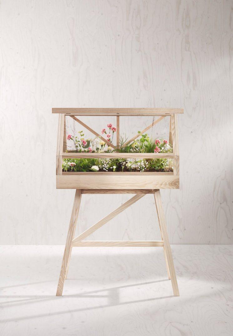 Serre miniature Greenhouse éditée par House Stockholm - Design Atelier 2+