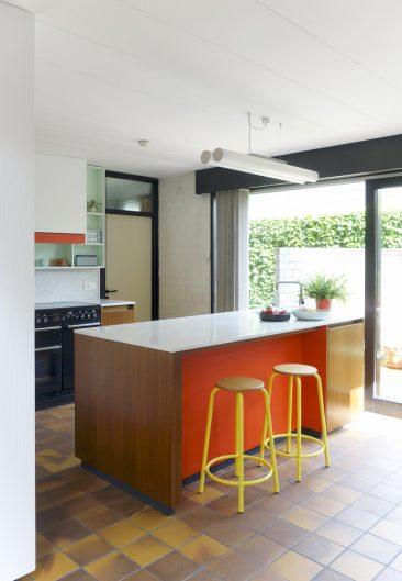 Les agencements colorés et scénographiés de l'architecte designer Dries Otten || Projet Bloemland