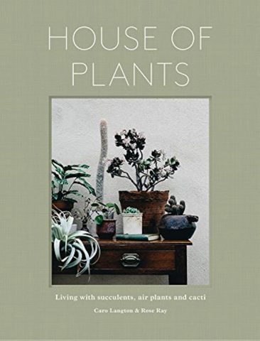 Livre - House of plants: living with succulents, air plants and cacti en anglais, de Rose Ray