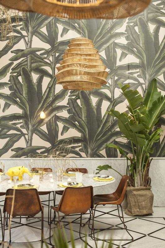 L'invasion des plantes vertes | Liza Beirout restaurant