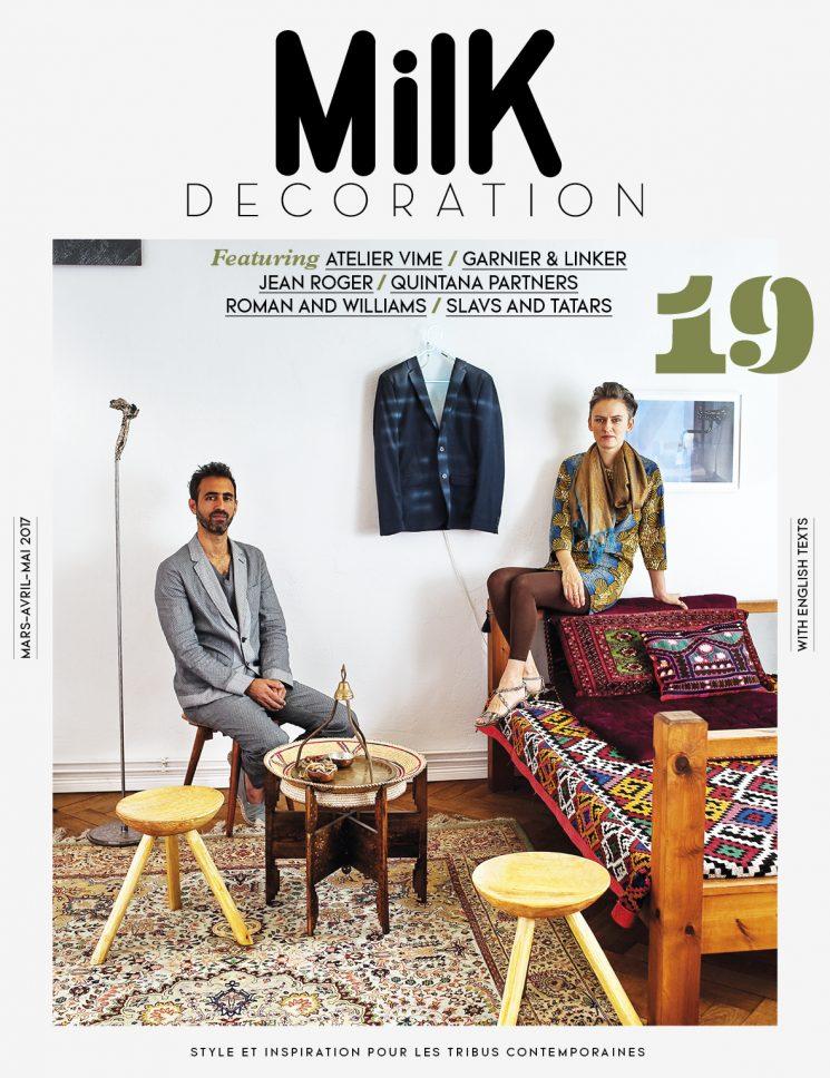 Le tapis persan en déco | Couverture du Milk Décoration n°19