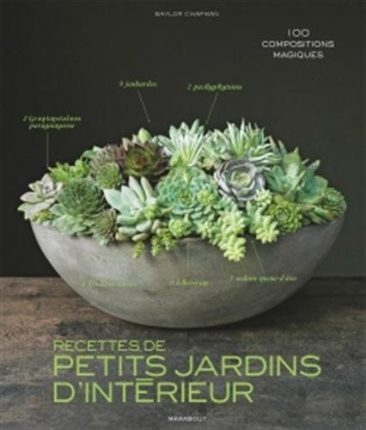 Livre - Recettes de Petits jardins d'intérieur