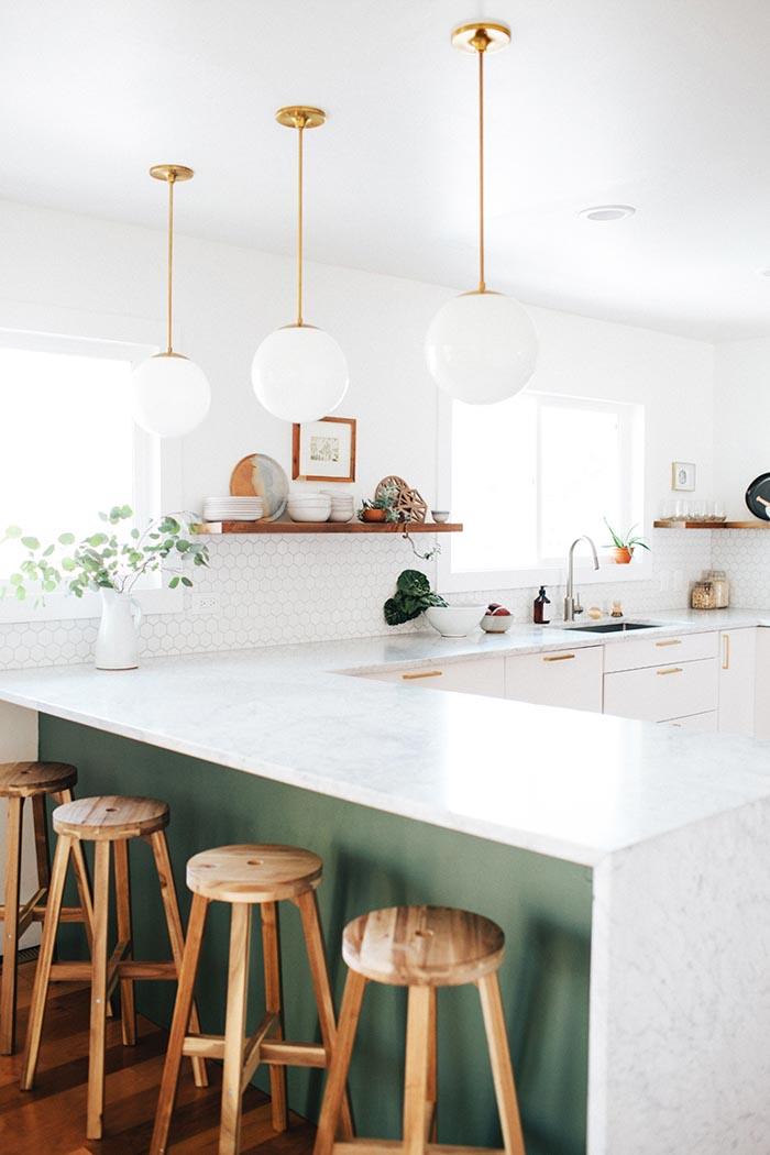 Le plan de travail de la cuisine, l'atout déco || Le choix du marbre