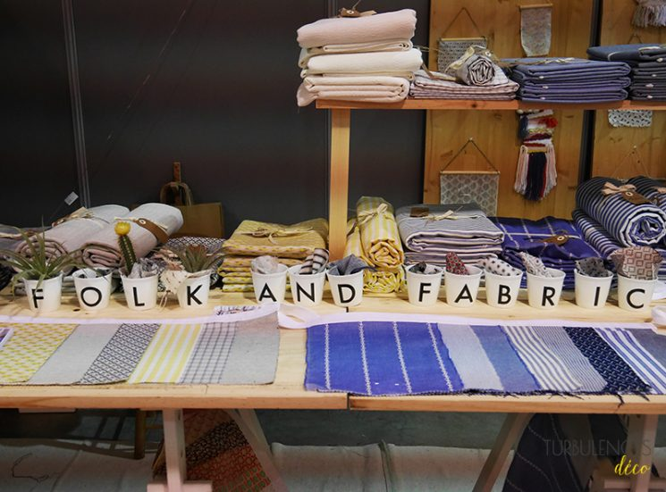 Salon du Printemps des Docks à Lyon | Stand de la marque Folk and Fabric