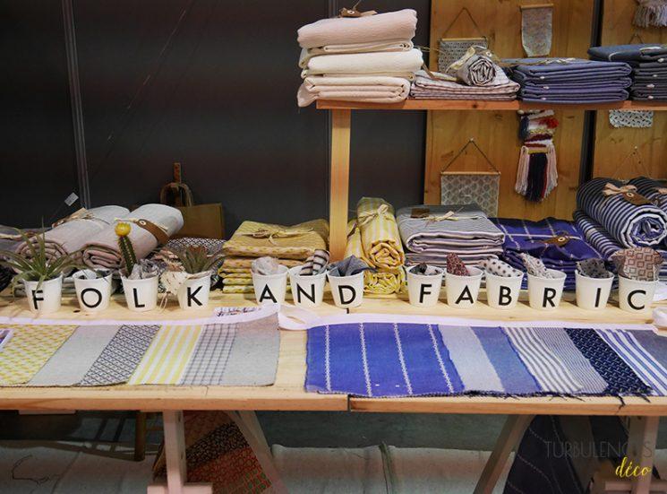 Salon du Printemps des Docks à Lyon | Stand de la marque Folk and Fabric
