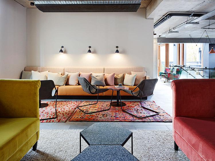 The alex hotel par arent pike ambiance design boh me - Interieur eclectique maison citiadine arent pyke ...
