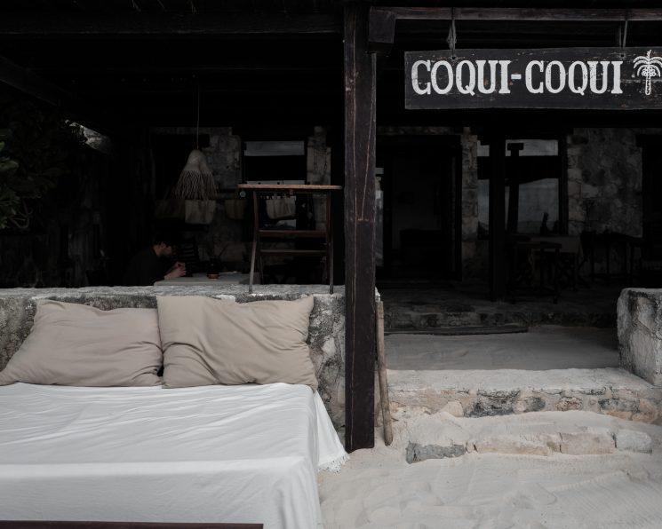 La décoration ethnique et wabi sabi || Hôtel Coqui Coqui à Tulum Mexique